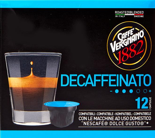 Caffè Vergnano DEC kapsle pre Dolce Gusto 12x7,5g