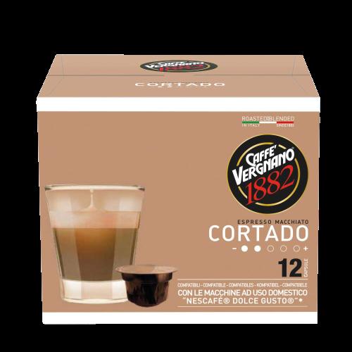 Caffè Vergnano Cortado kapsle pre Dolce Gusto 12x7,5g