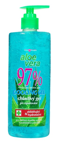Vivapharm Aloe vera chladivý gél po opaľovaní 500ml