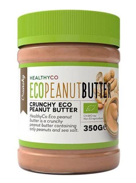 HealthyCO Arašidové maslo chrumkavé 350g