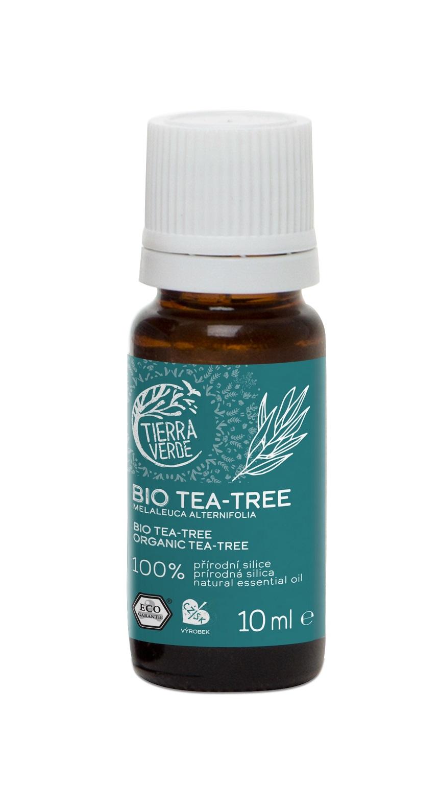 Tierra Verde Esenciálny olej BIO Tea Tree 10ml