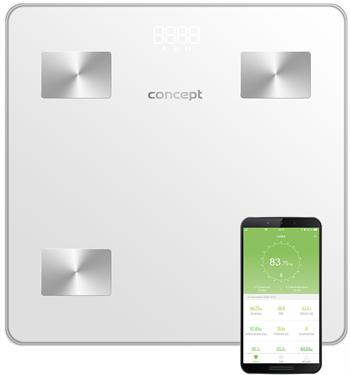 Concept Osobná váha VO4000 diagnostická 180kg biela