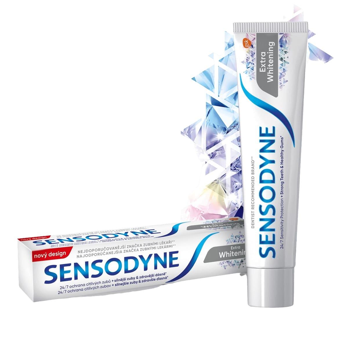 Sensodyne Extra Whitening Zubná pasta 75ml