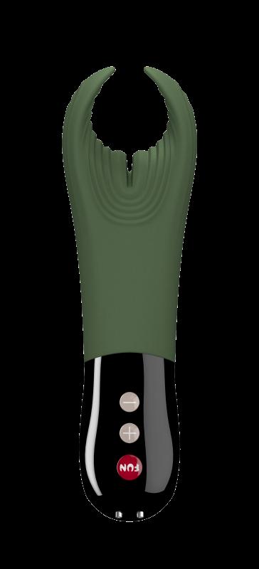 Fun Factory Masturbátor pre mužov Manta zeleno-čierny